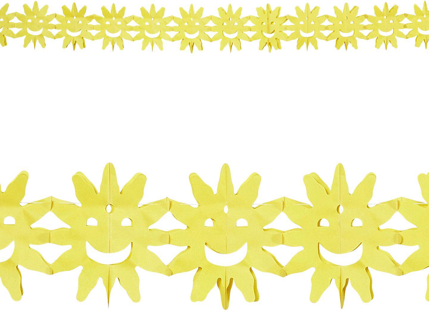 Gele zonnetjes slinger