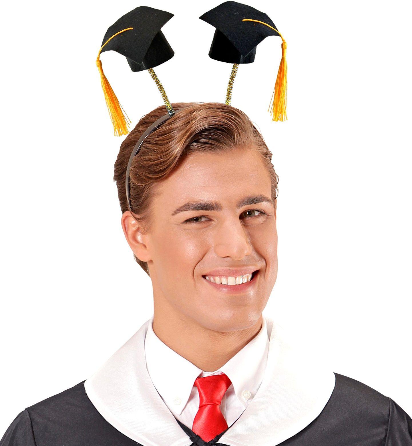 Geslaagden hoed haarband
