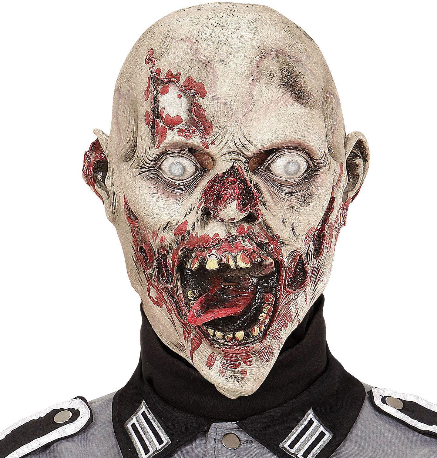 Gestoorde zombie masker