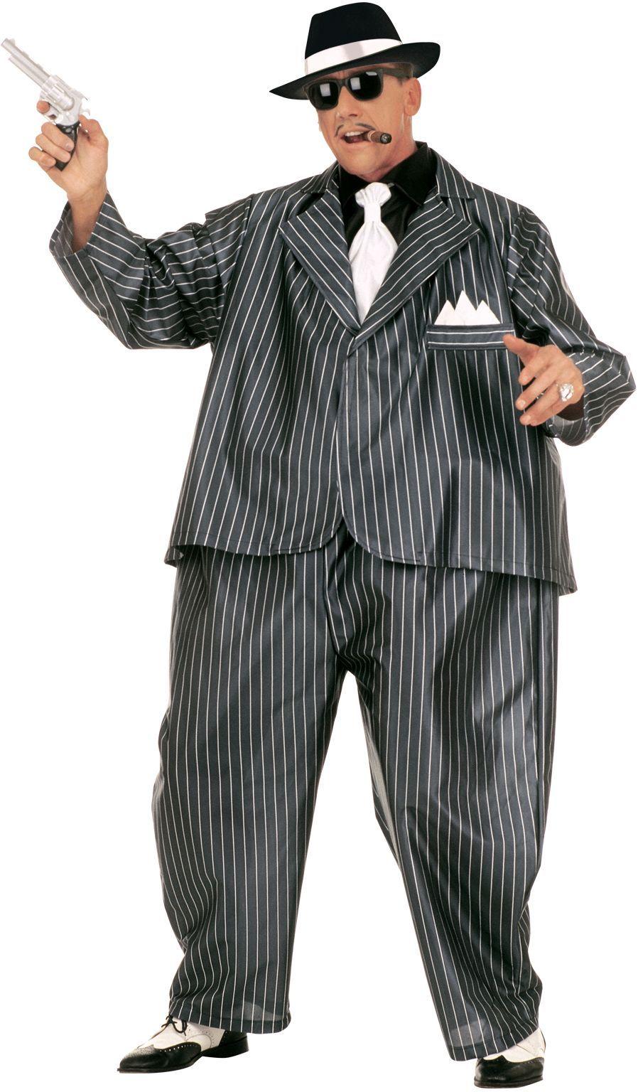 Gezette gangster kostuum