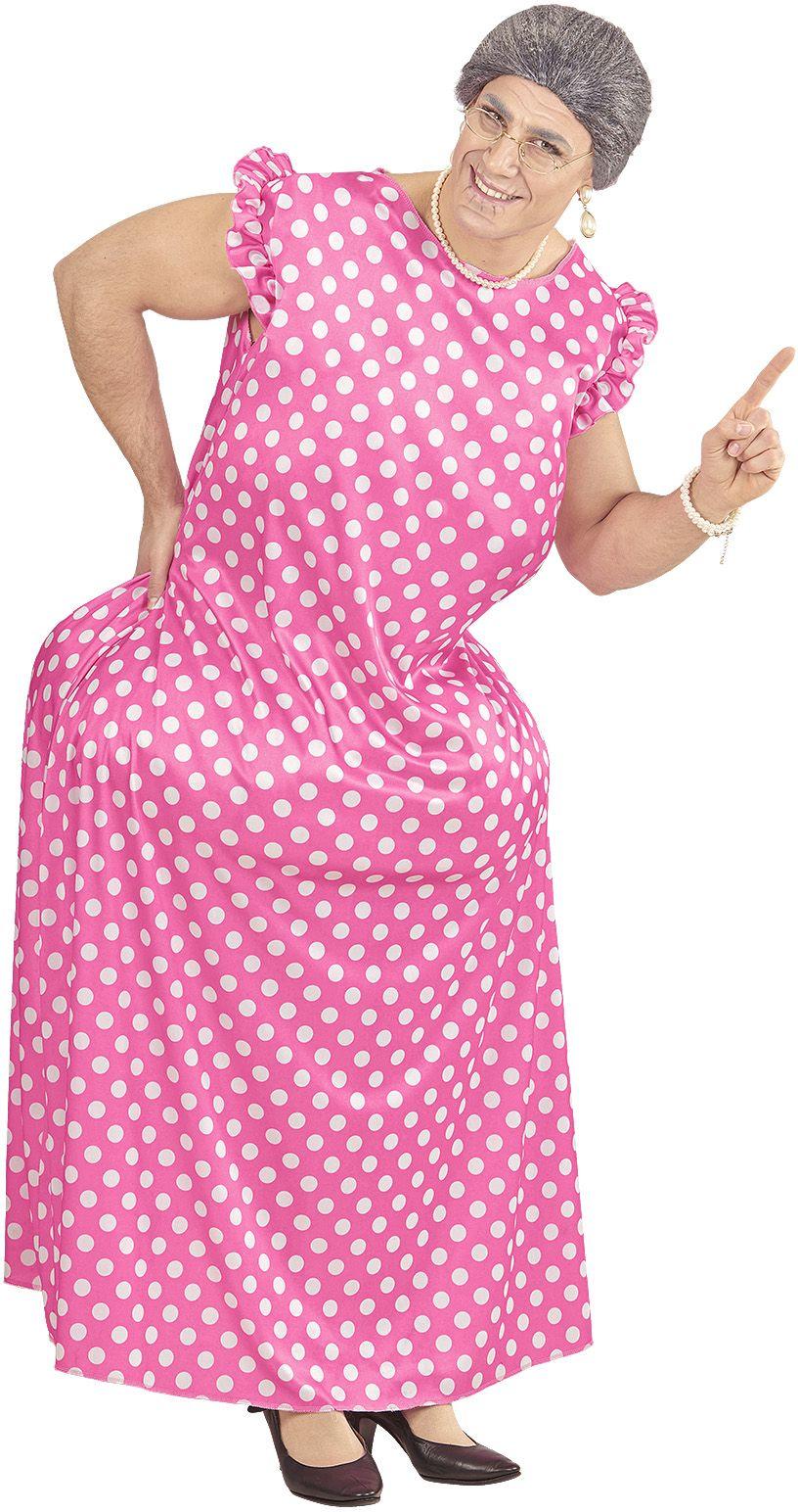 Gezette oma outfit One-size-volwassenen