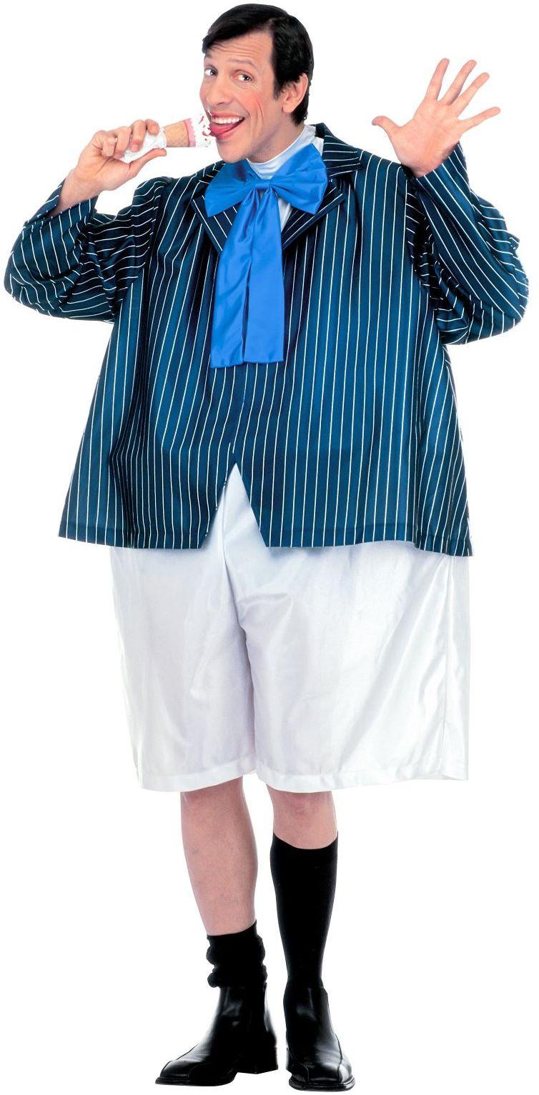 Gezette schooljongen kostuum