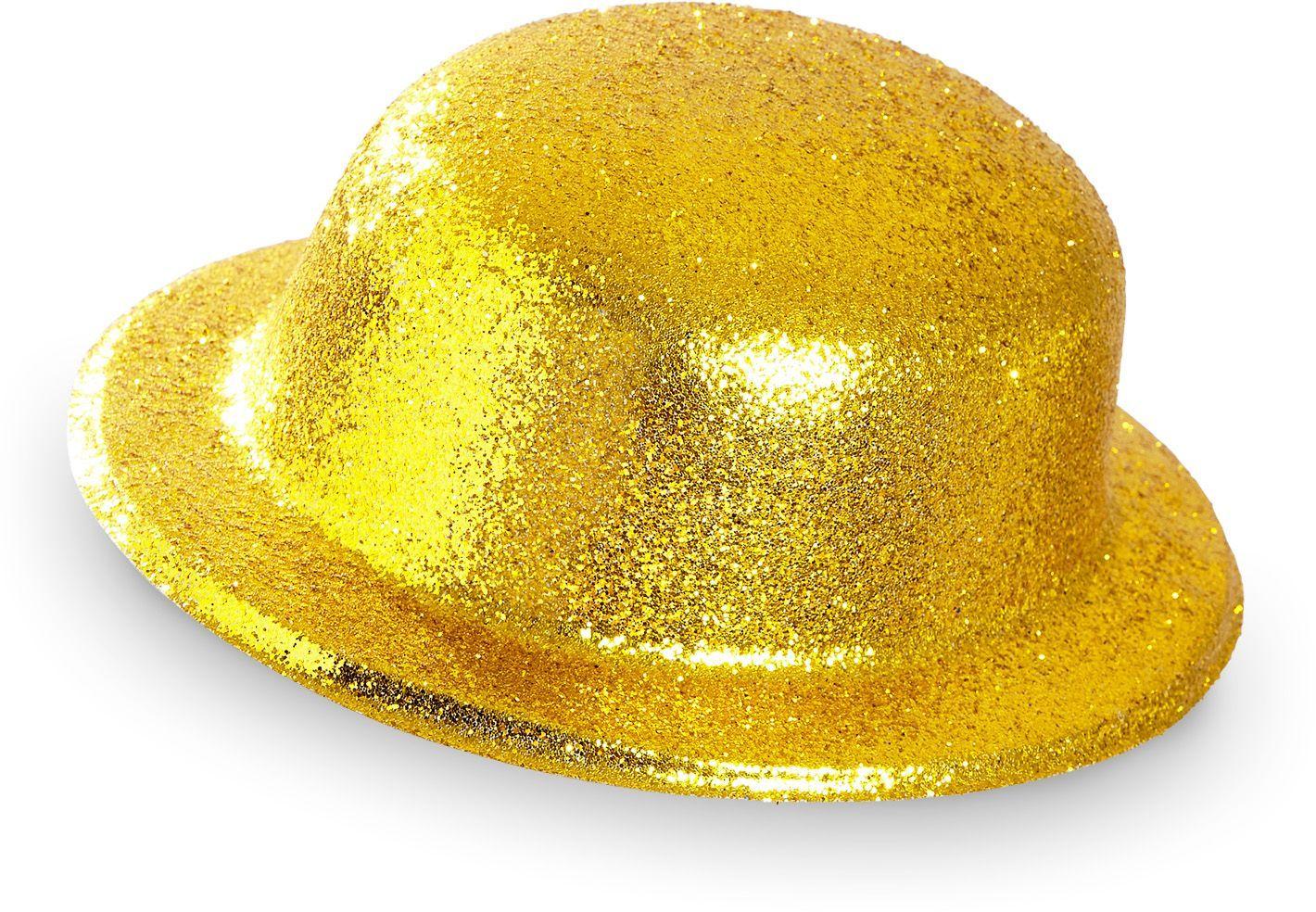 Glitter bolhoed goud