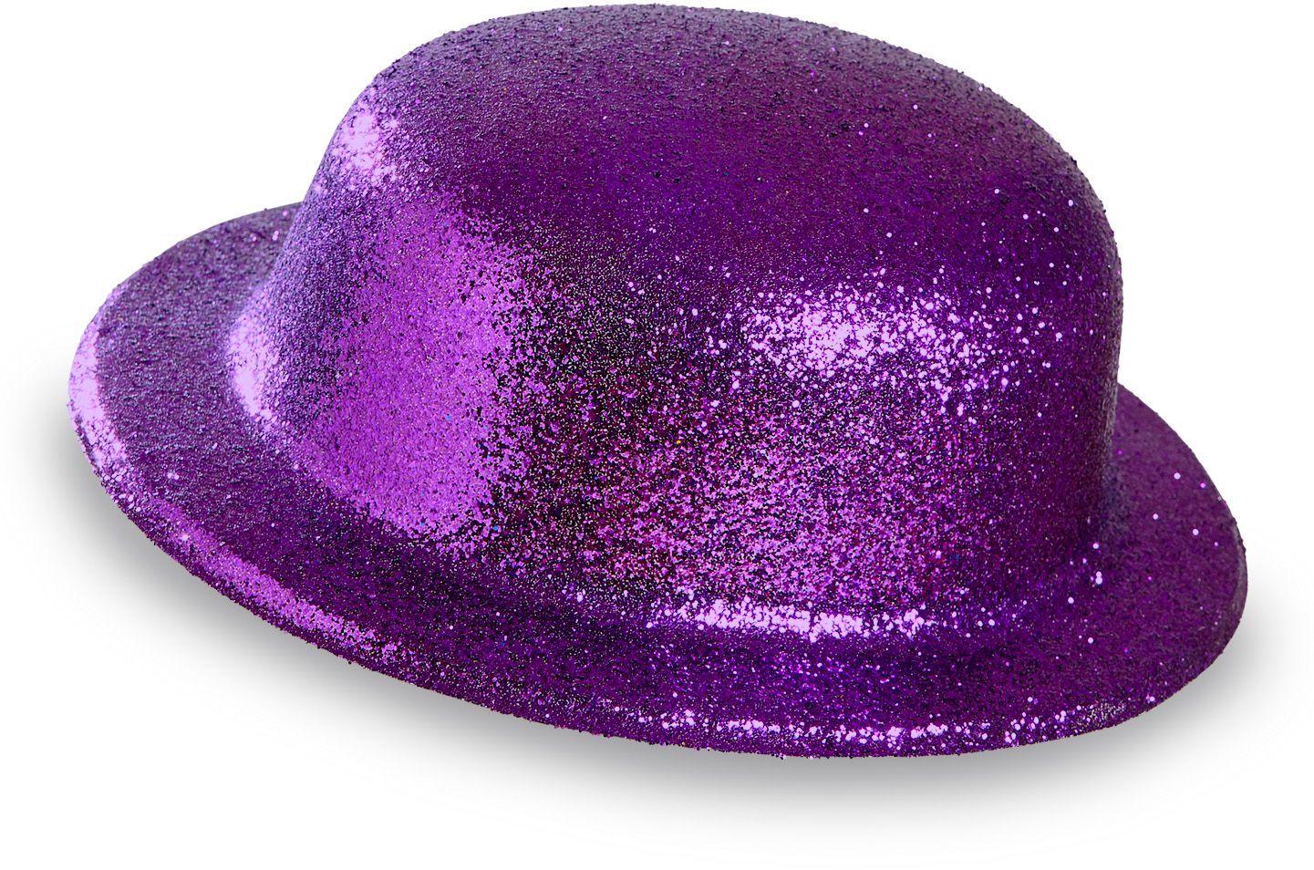 Glitter bolhoed paars