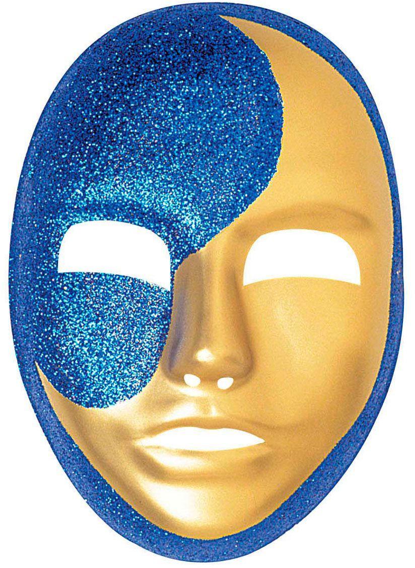 Glitter maan masker