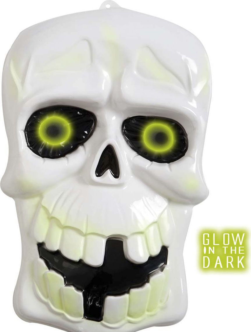 Glow in the dark 3D schedel