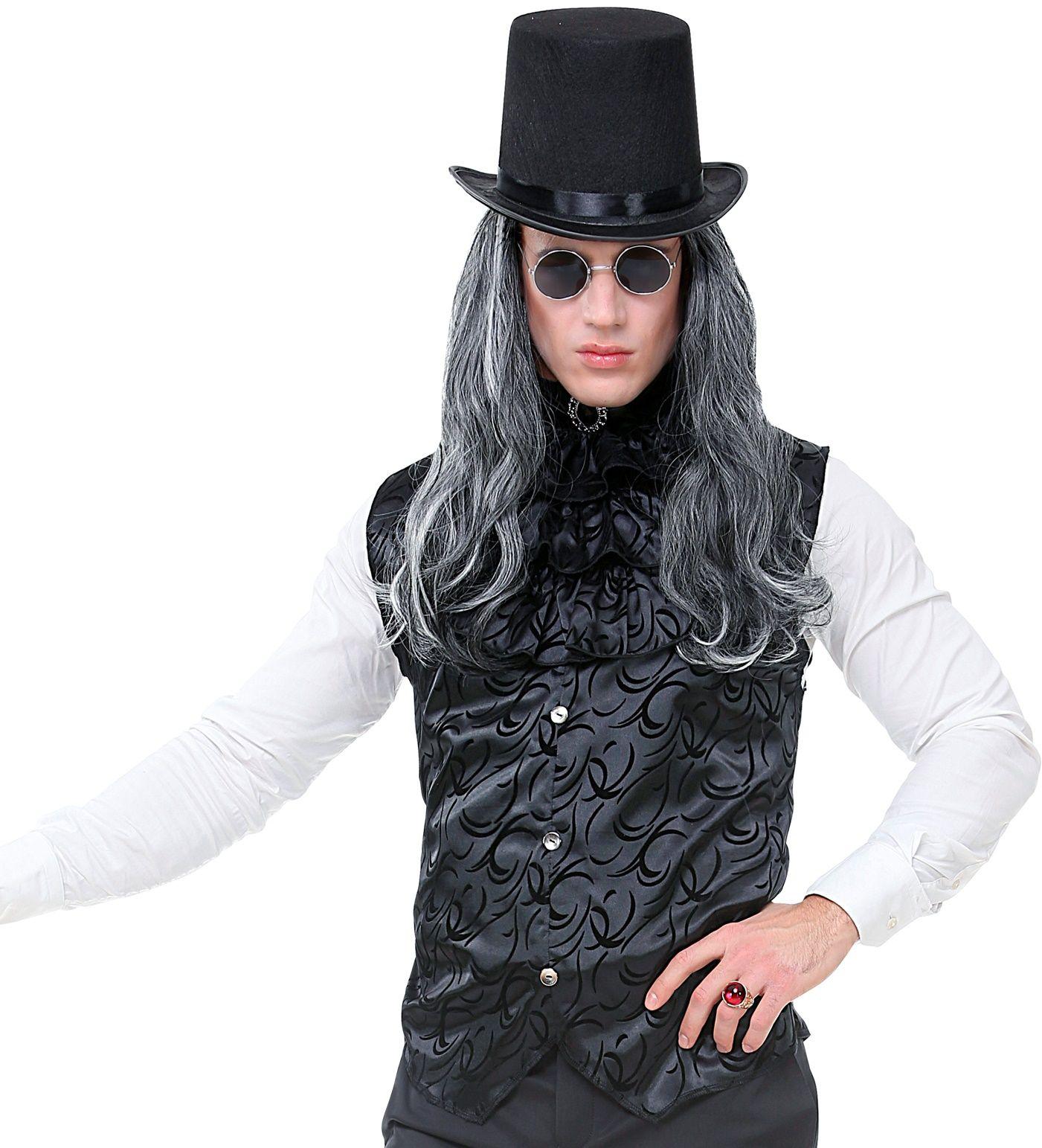 Goochelaar outfit zwart heren