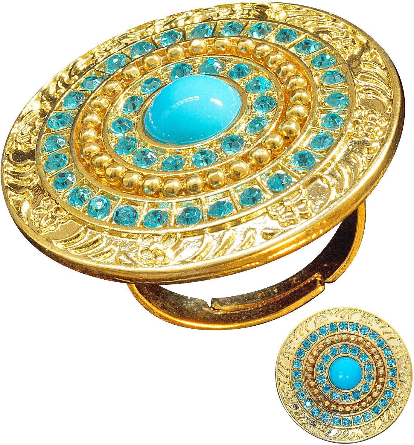 Gouden cleopatra ring
