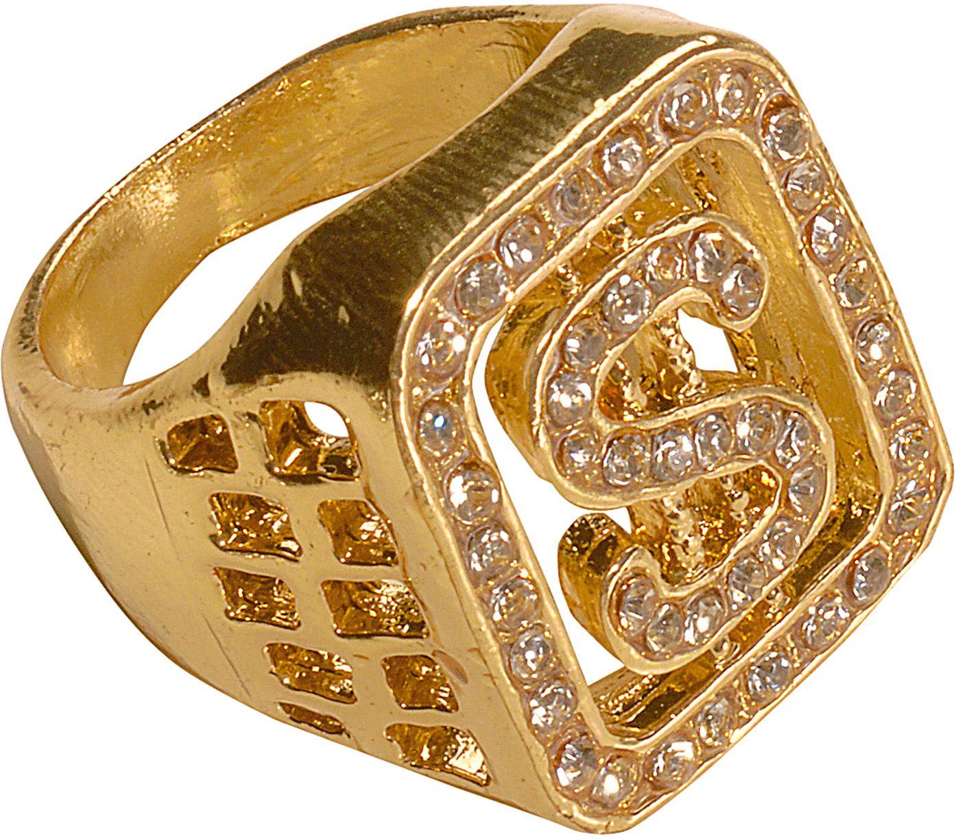 Gouden diamanten ring