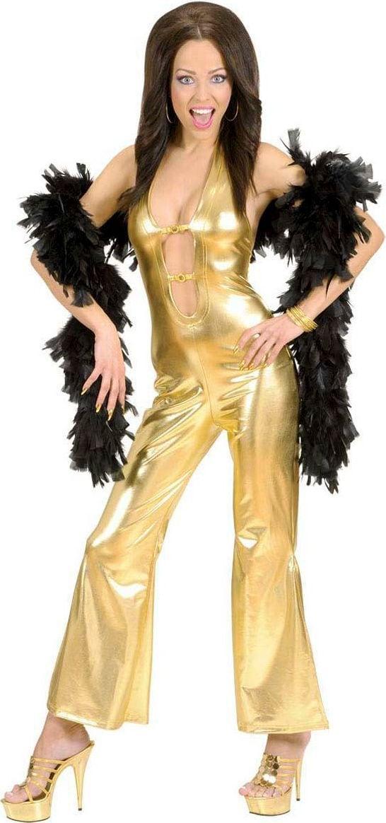 Gouden disco kleding