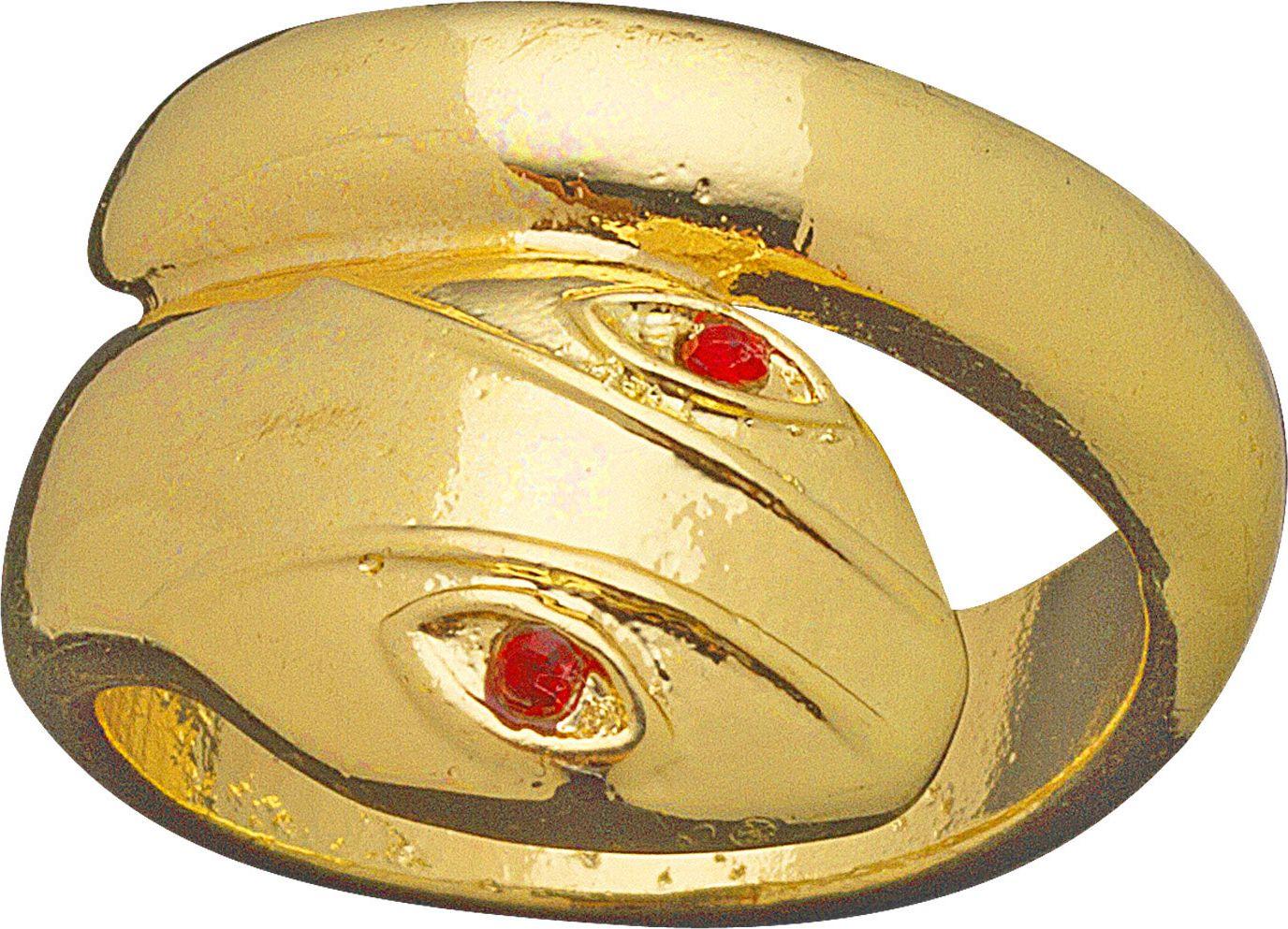 Gouden egyptische slangen ring