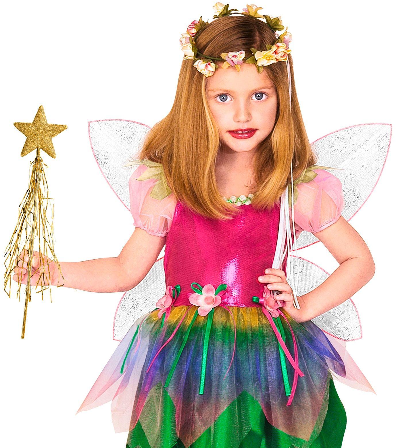 Gouden glitter feeënstaf
