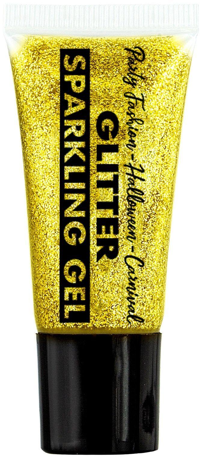 Gouden glitter schmink