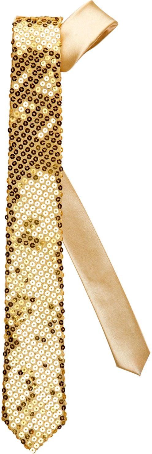 Gouden glitter stropdas