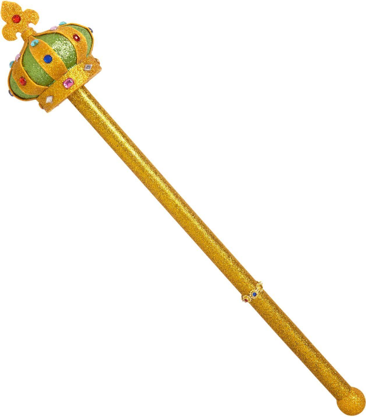 Gouden koninklijke scepter