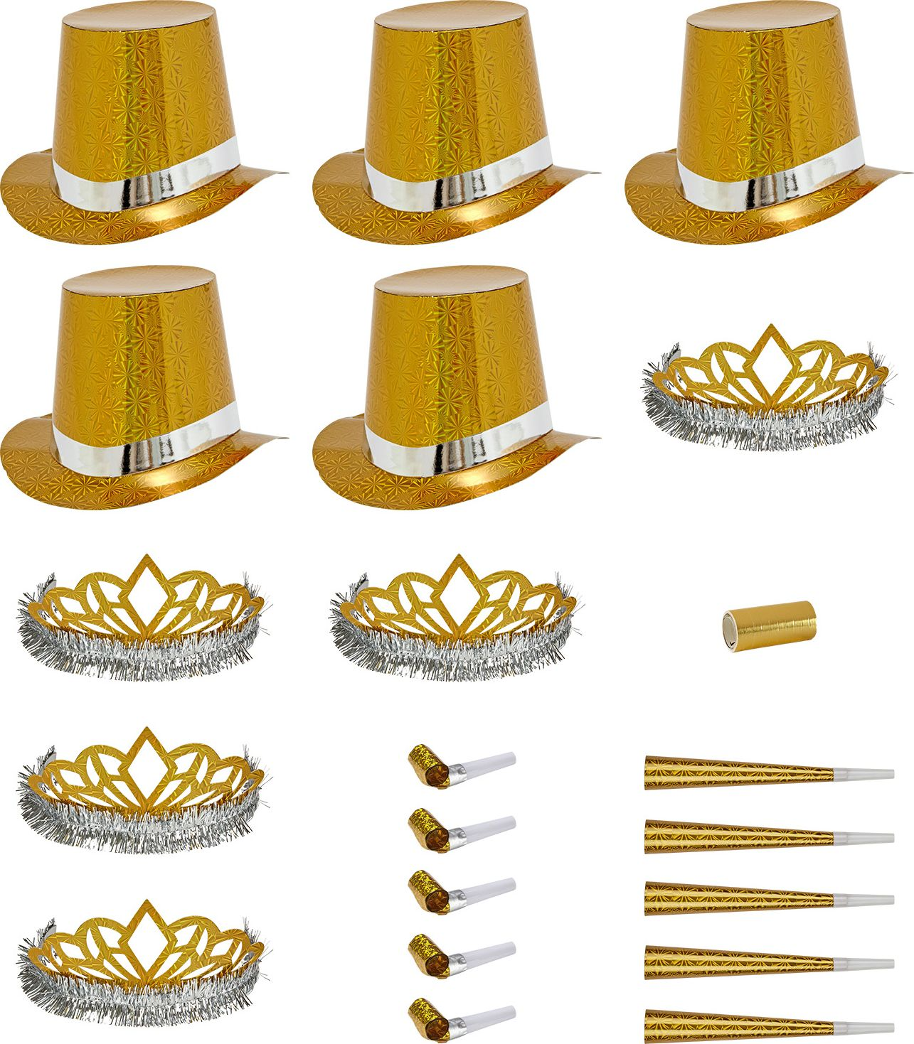 Gouden las vegas party set