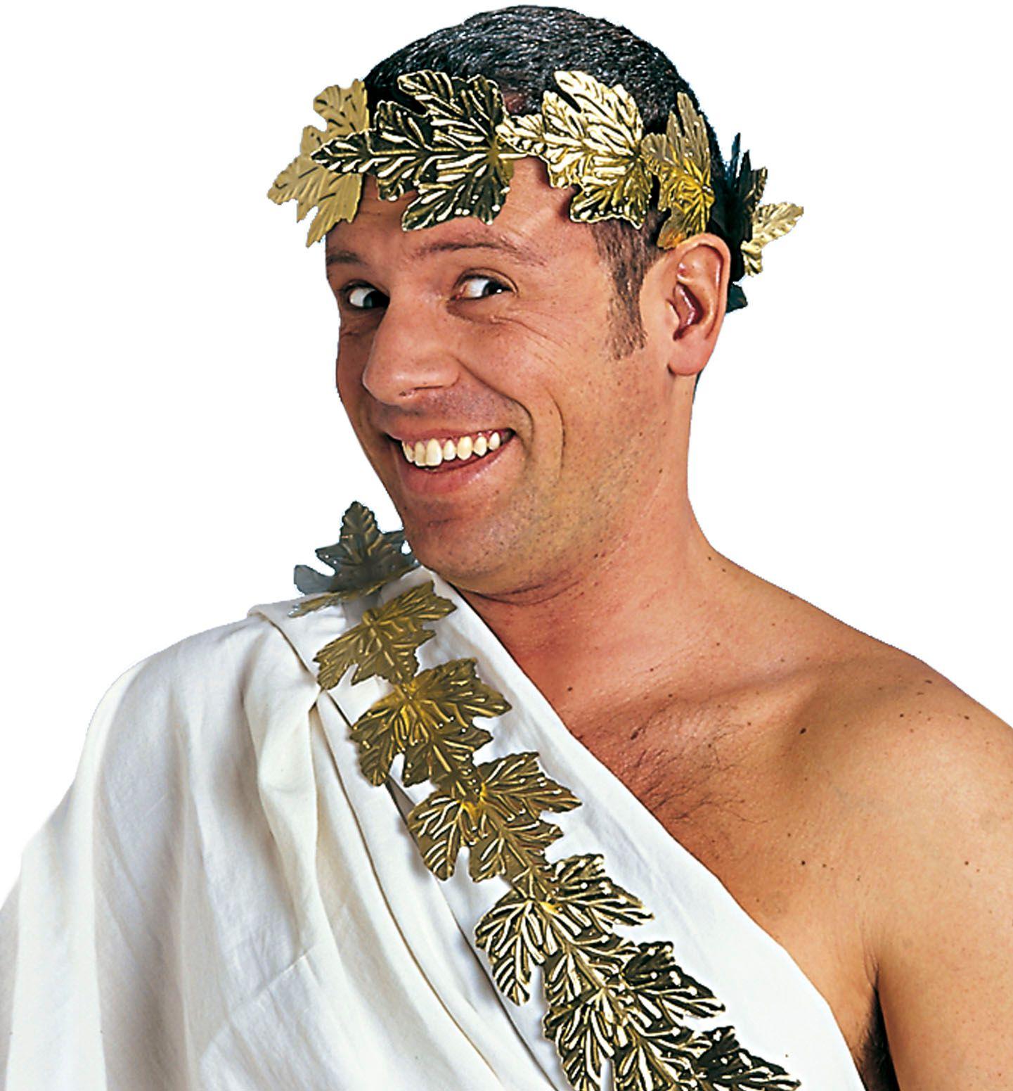 Gouden laurier hoofdband