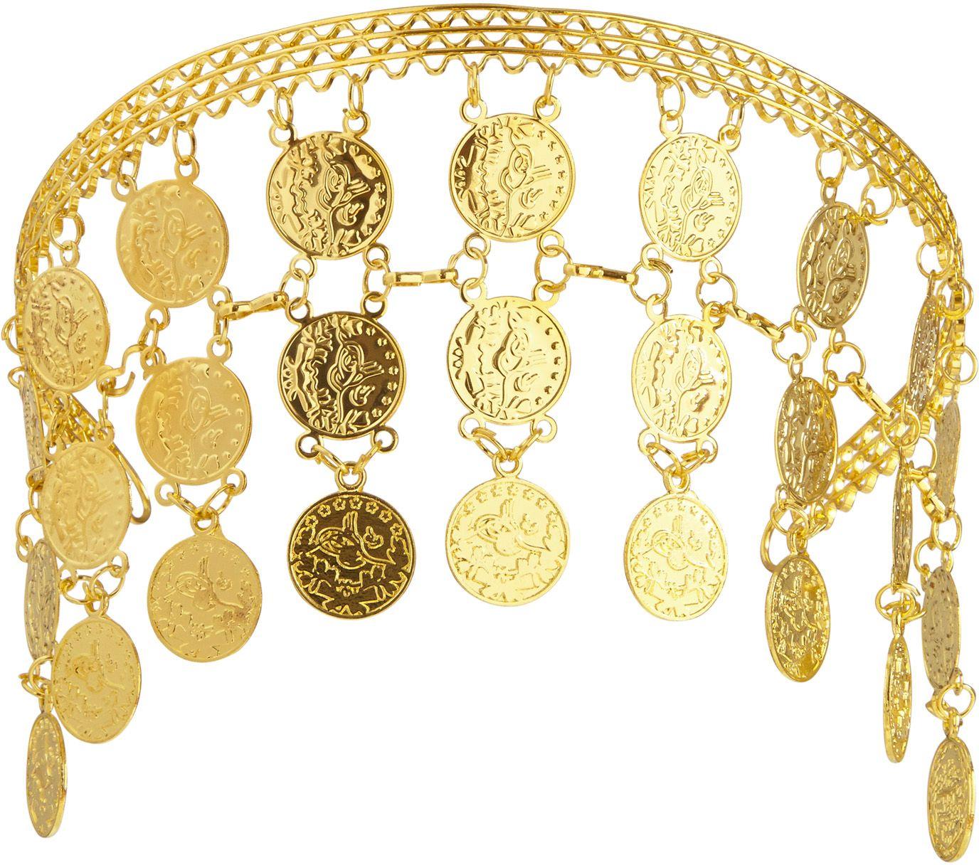Gouden muntjes hoofdband