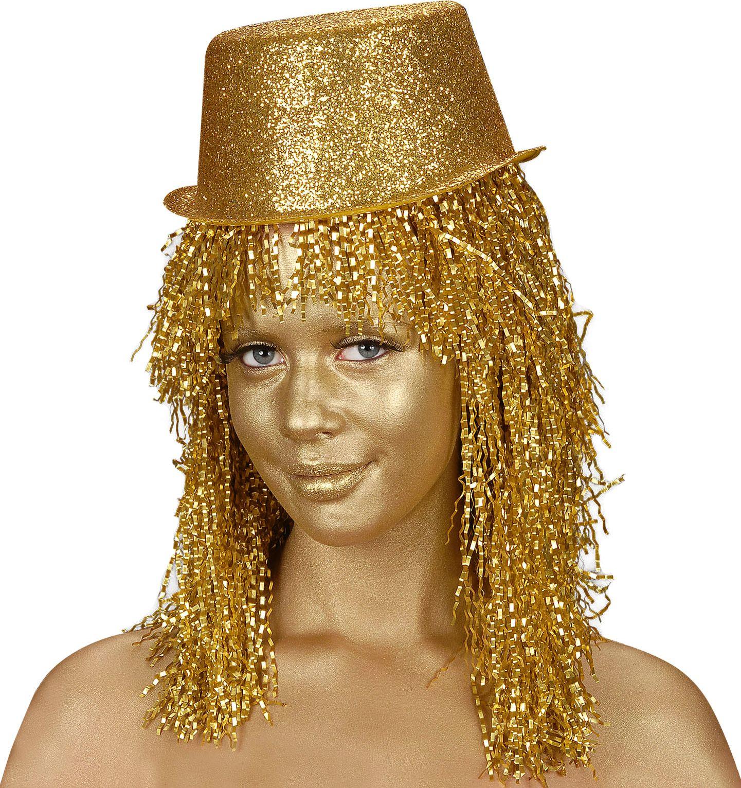 Gouden schmink