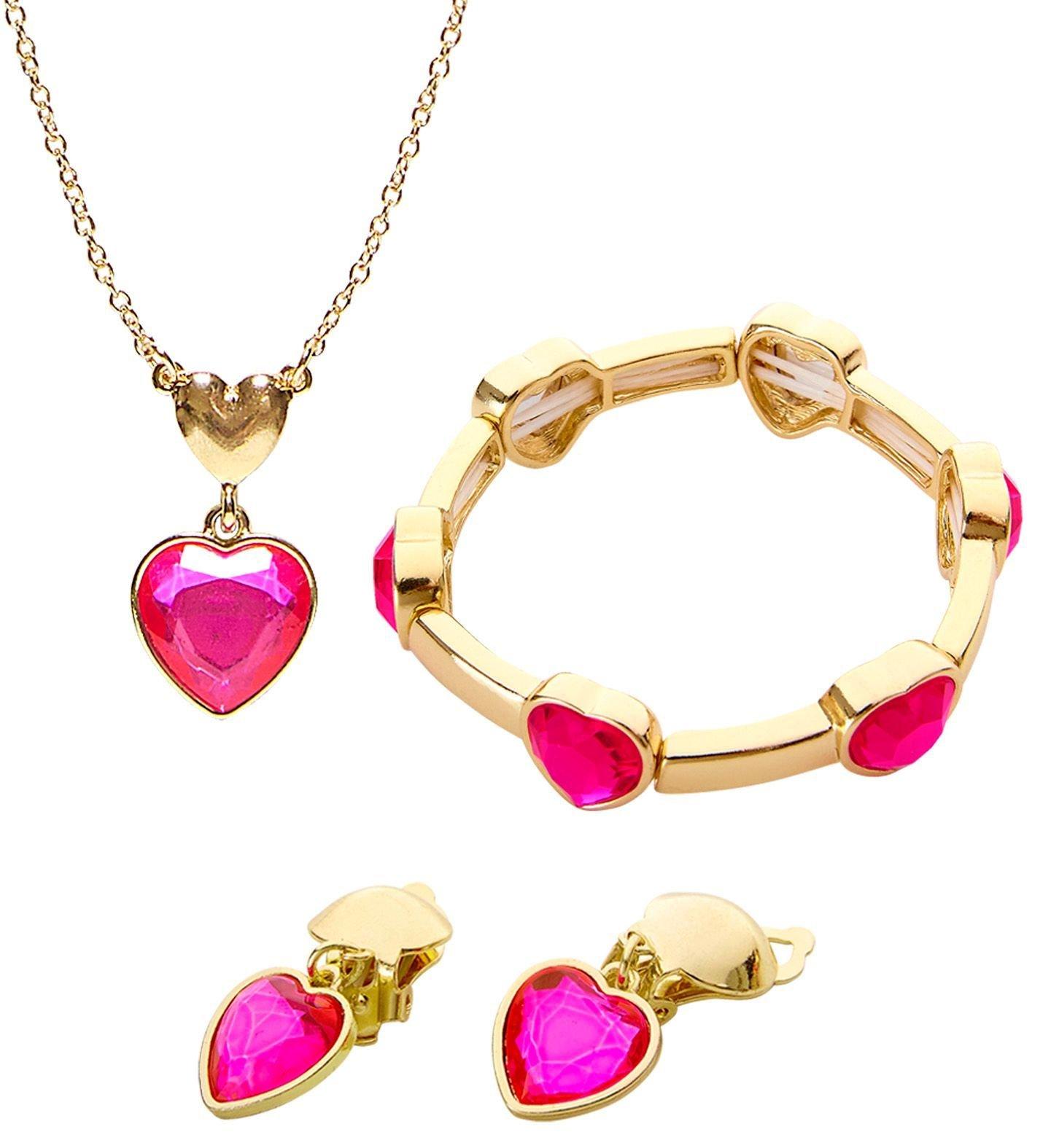 Gouden sieraden met hartjes
