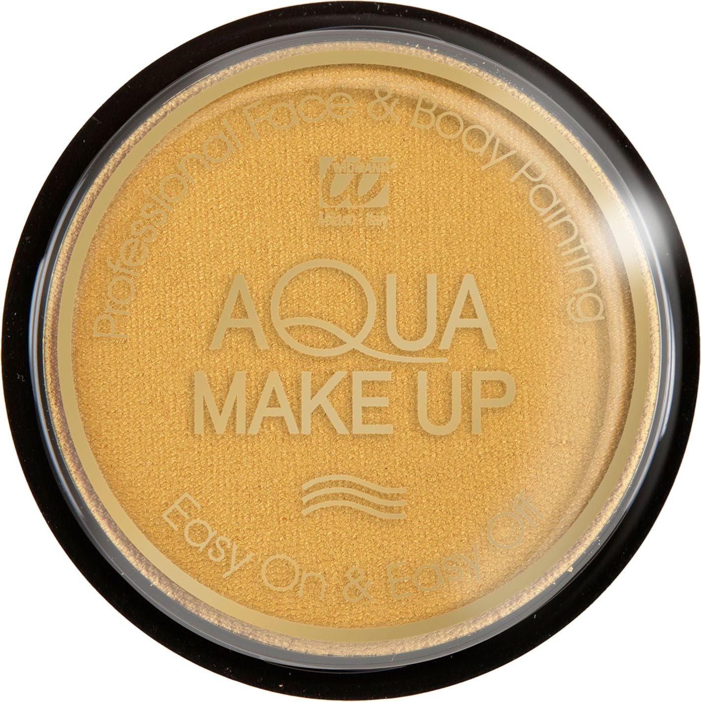 Gouden waterbasis make-up metallic