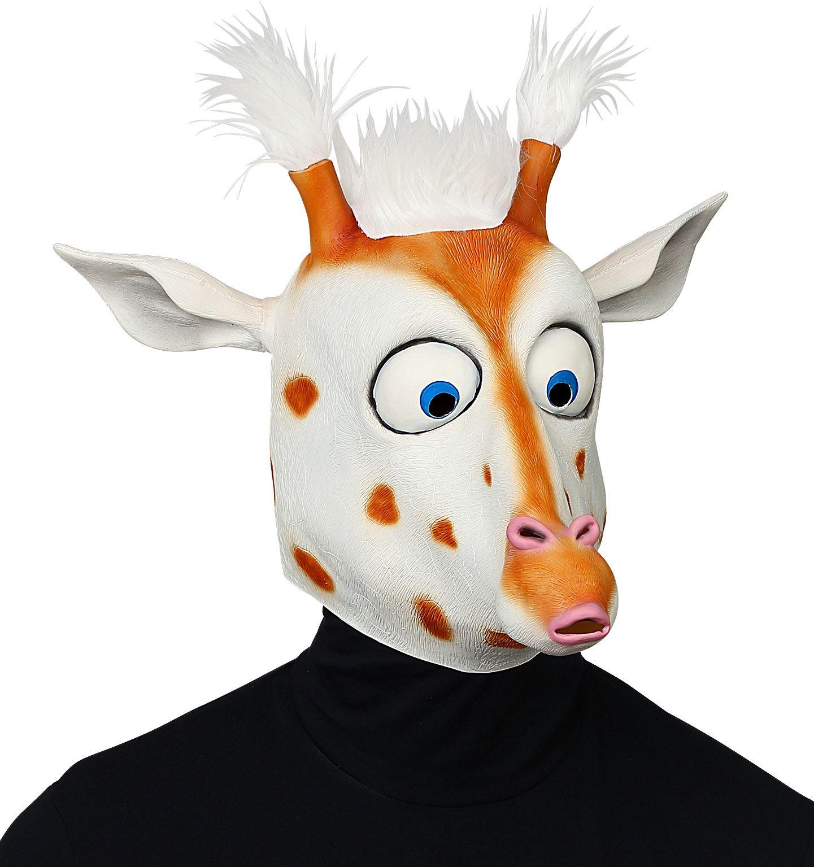 Grappig giraffe masker