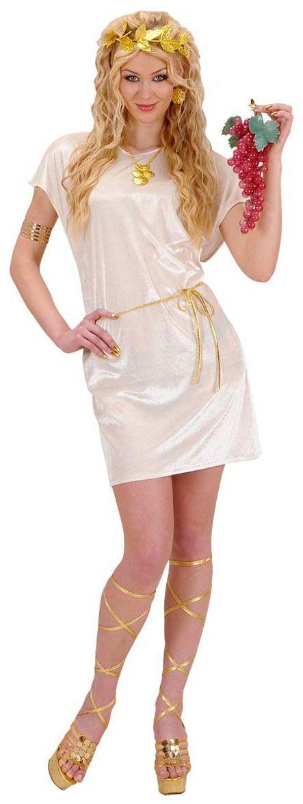 Griekse tuniek beige