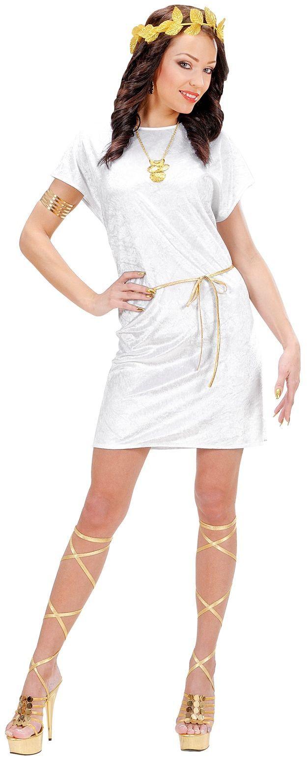 Griekse tuniek wit
