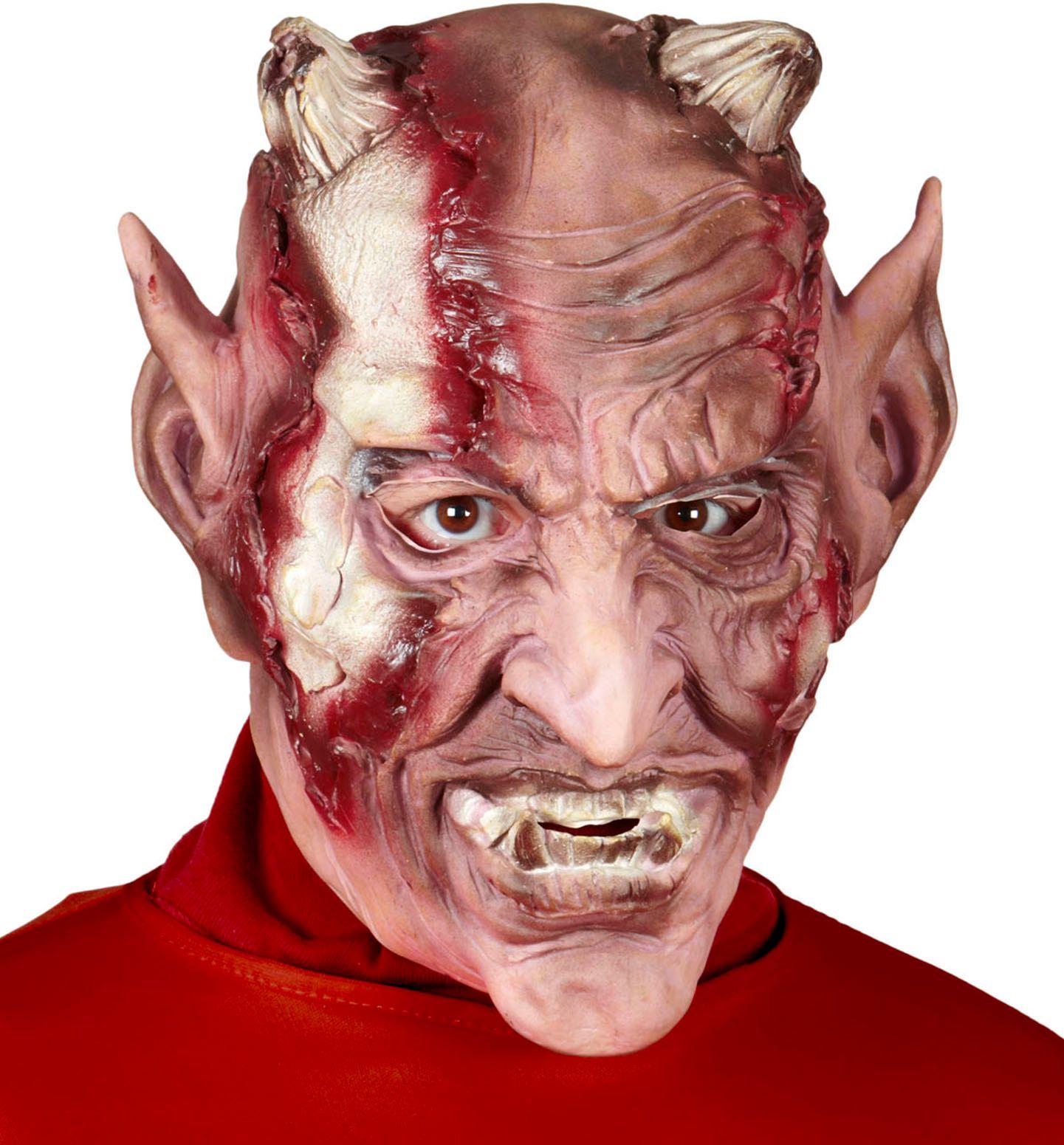 Griezelig duivel masker