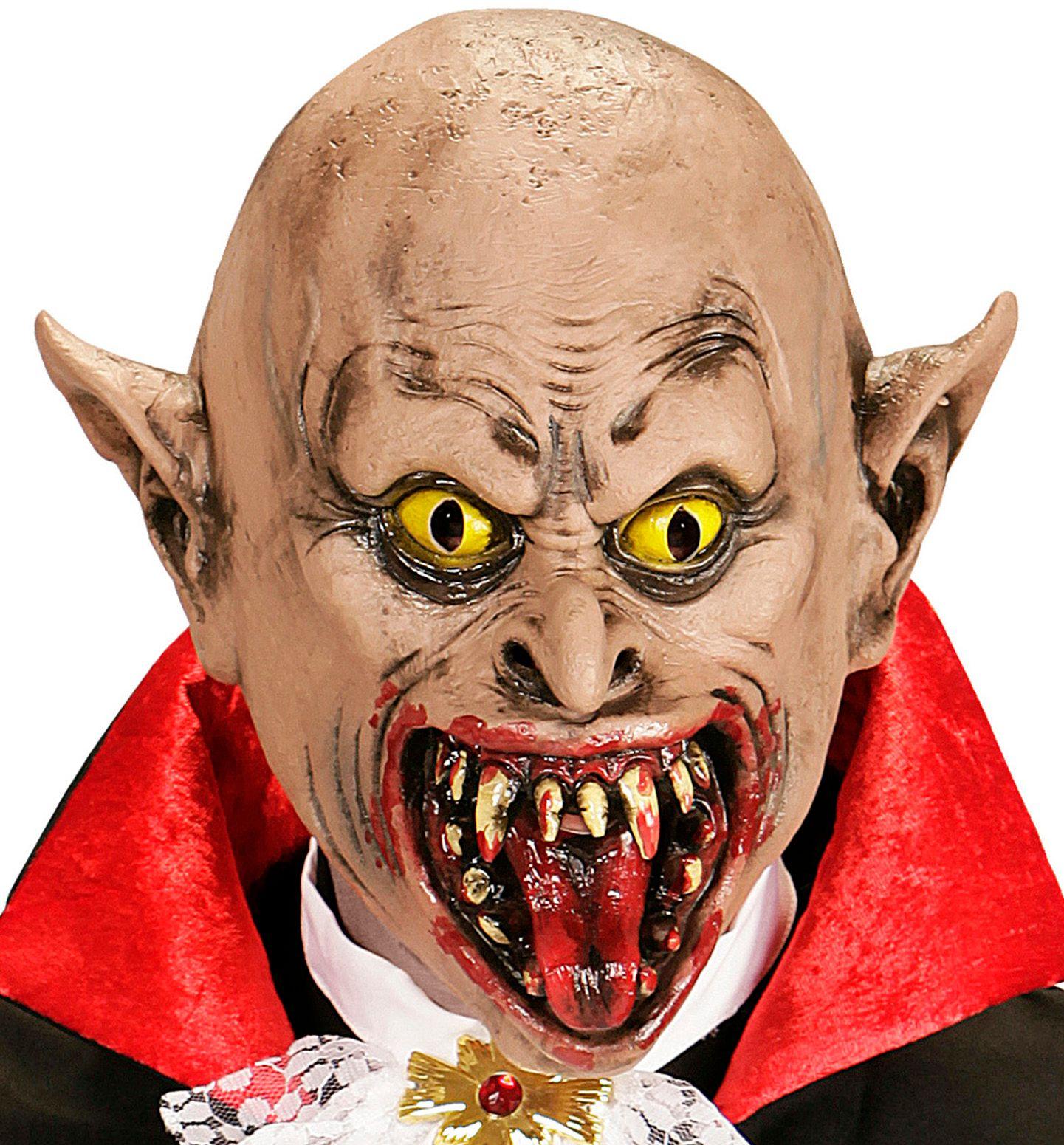 Griezelig vampier masker
