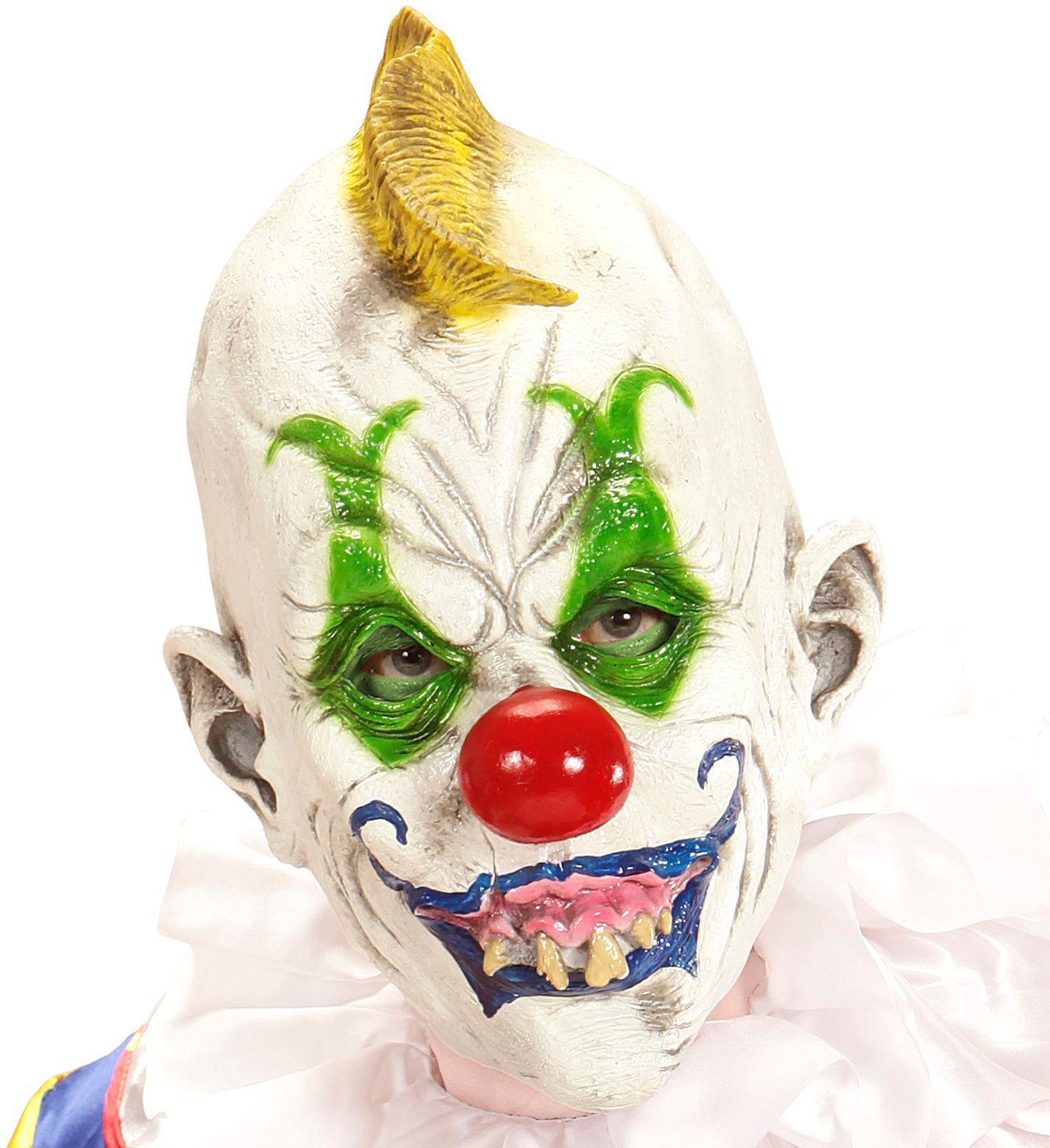 Griezelige gestoorde horror clown masker