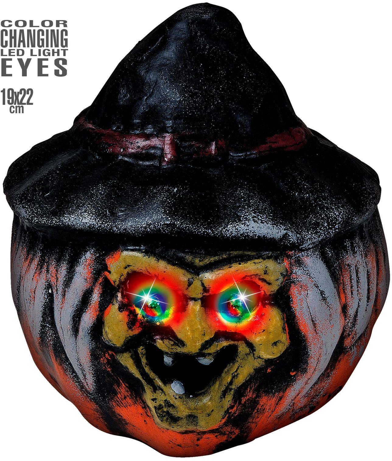 Griezelige heksen pompoen