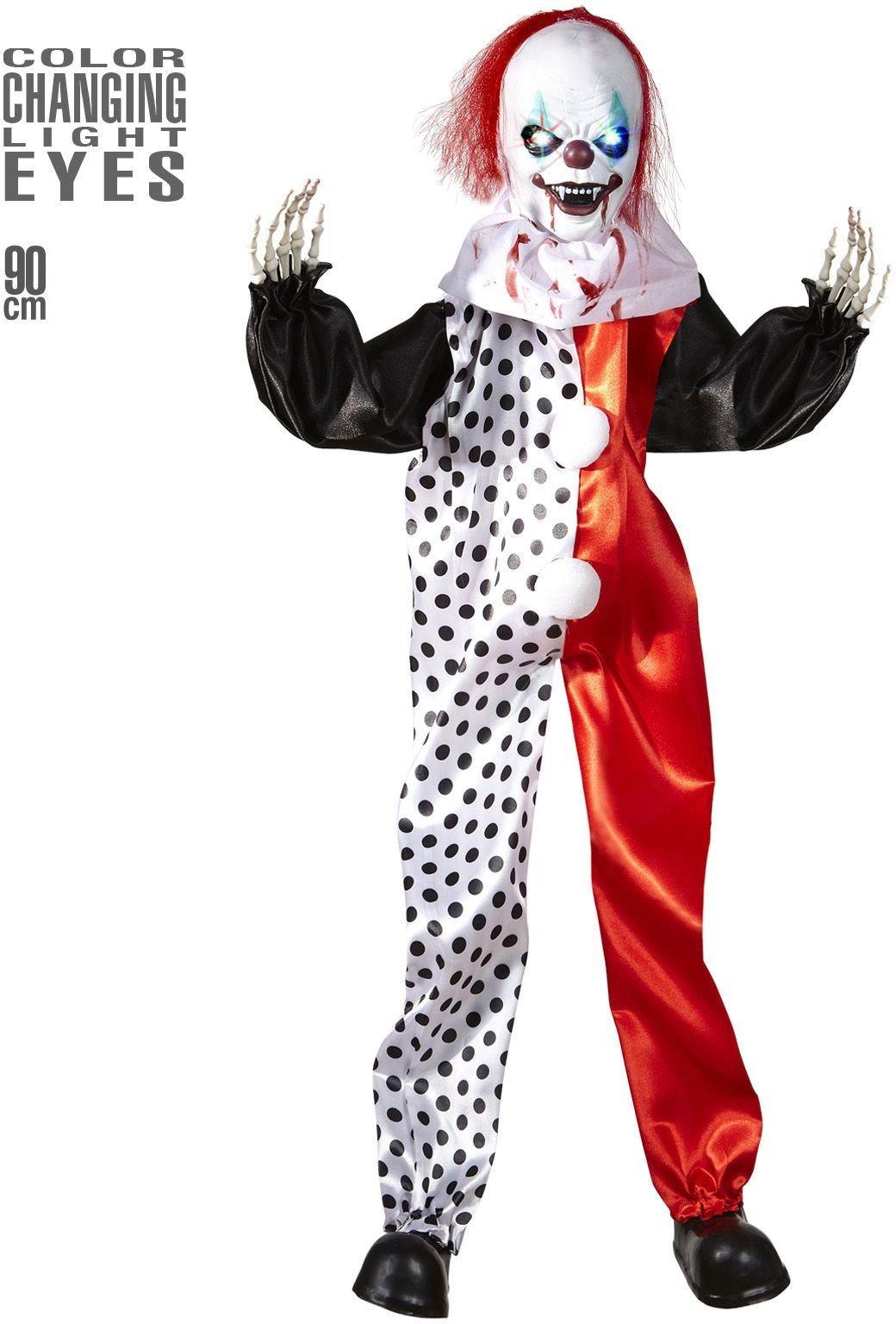 Griezelige killer clown