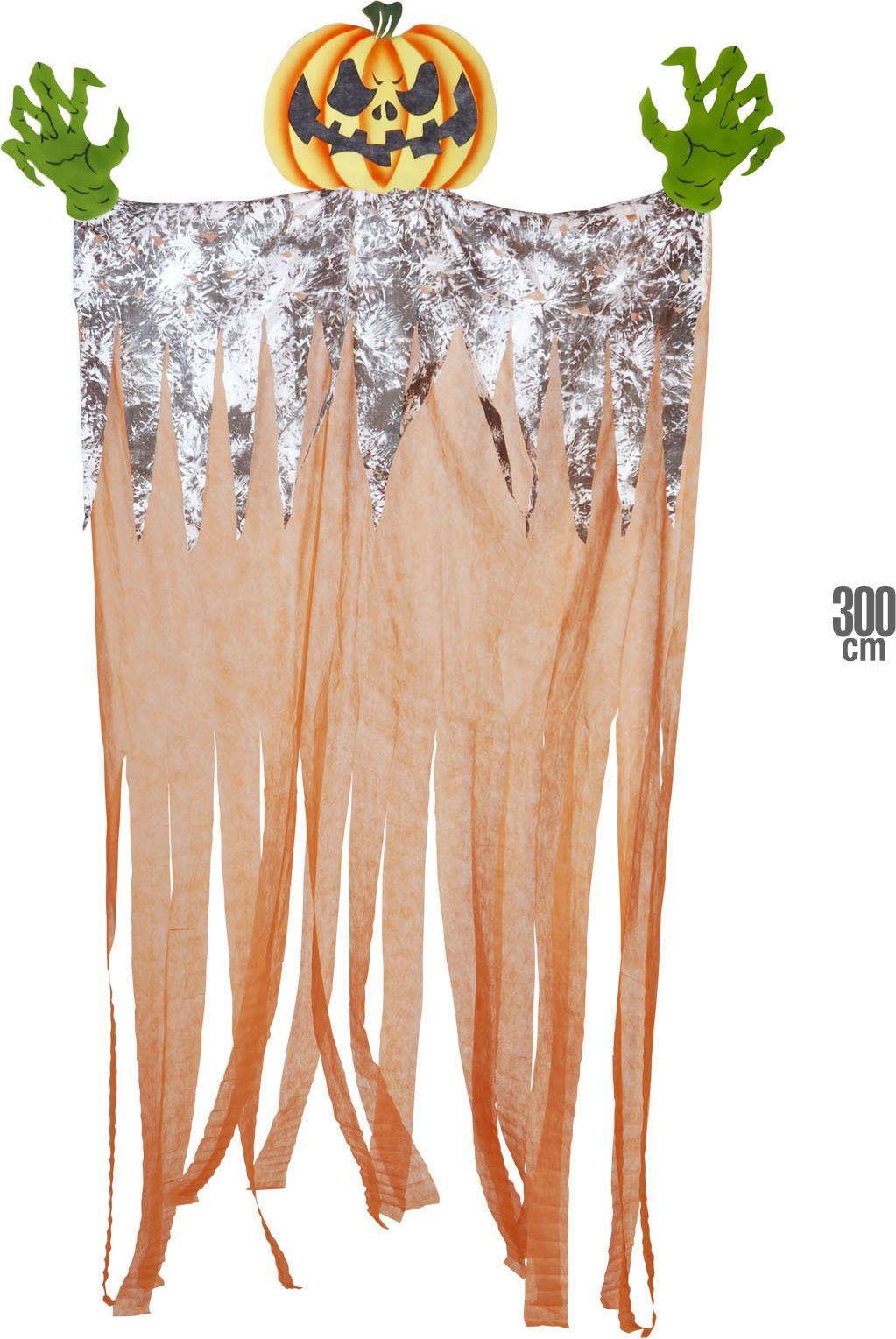 Griezelige pompoen decoratie