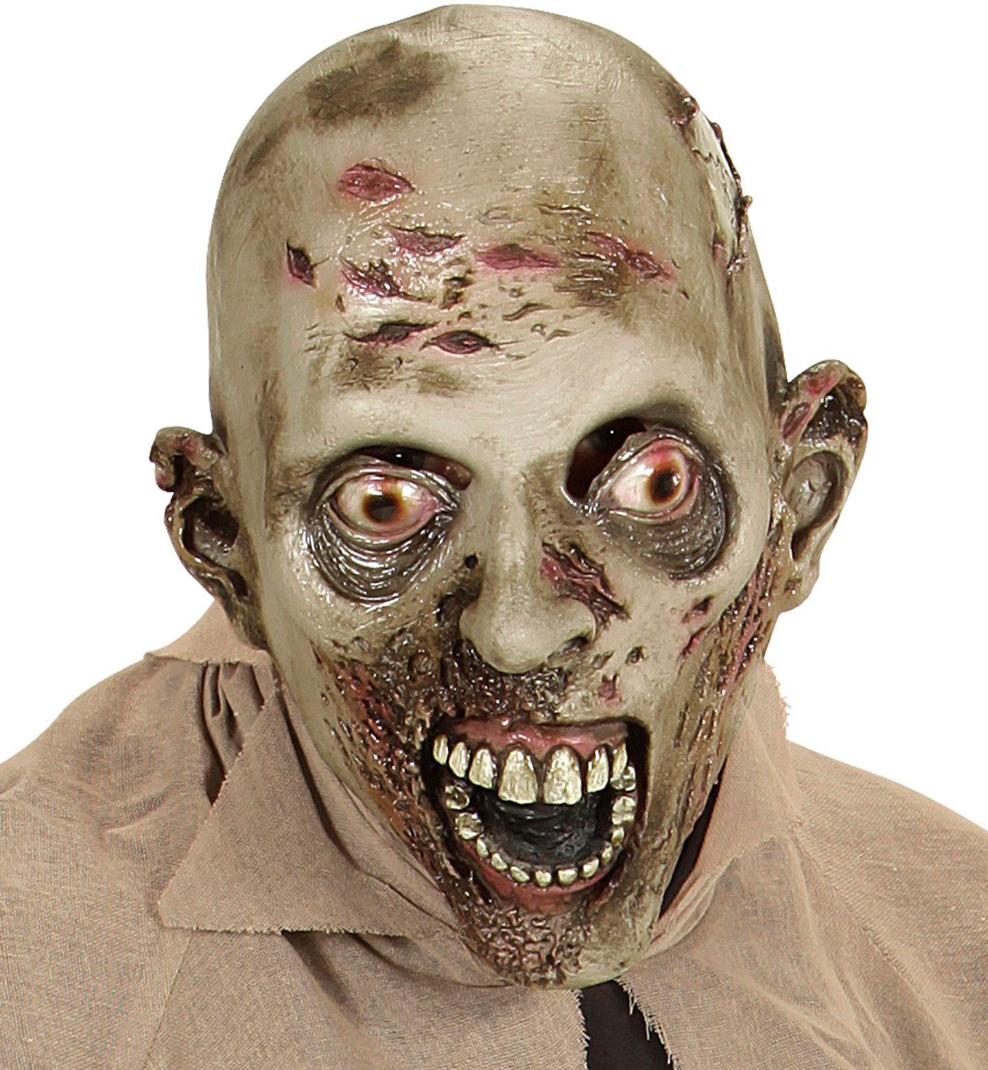 Griezelige zombie masker