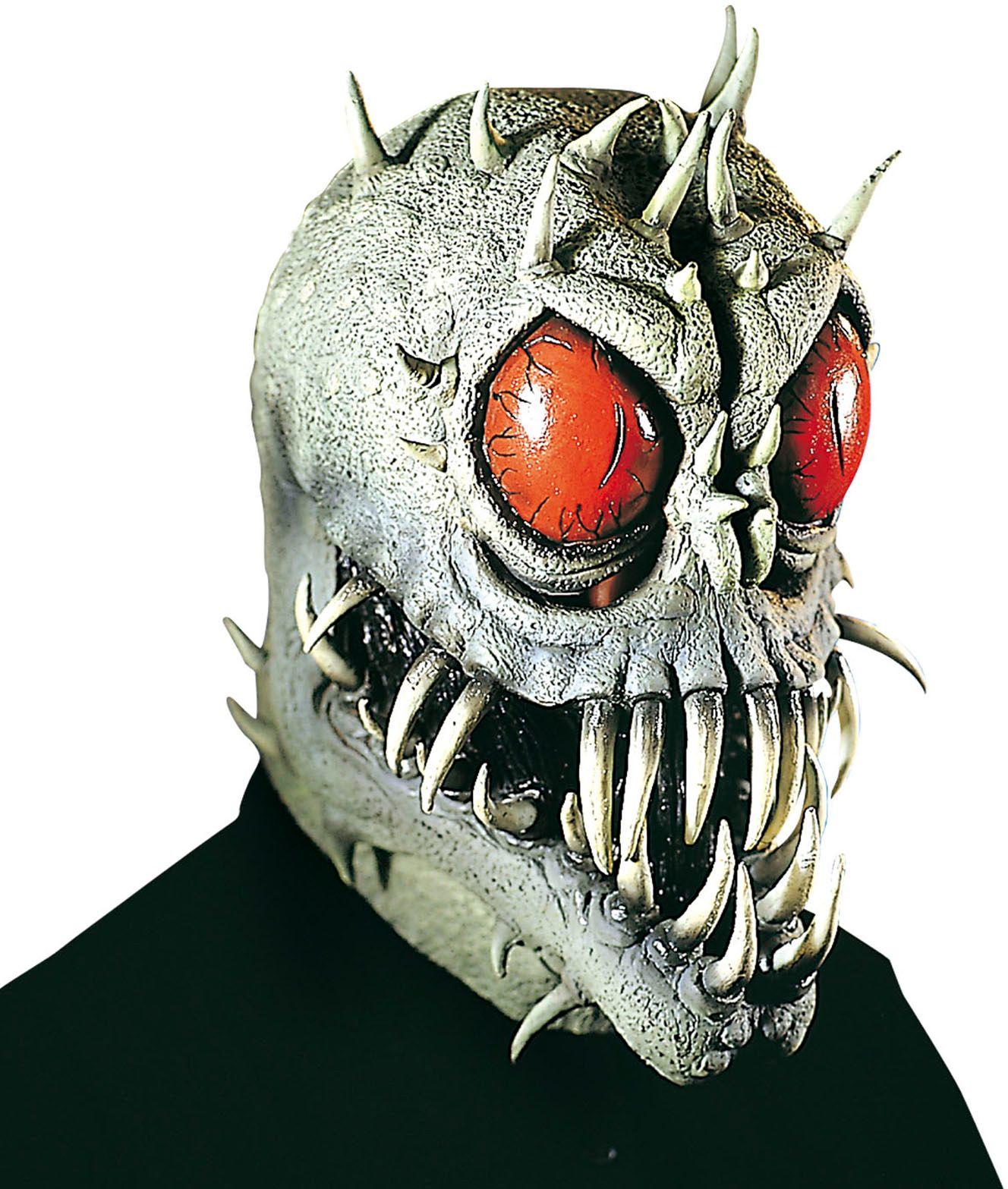 Grijs alien masker