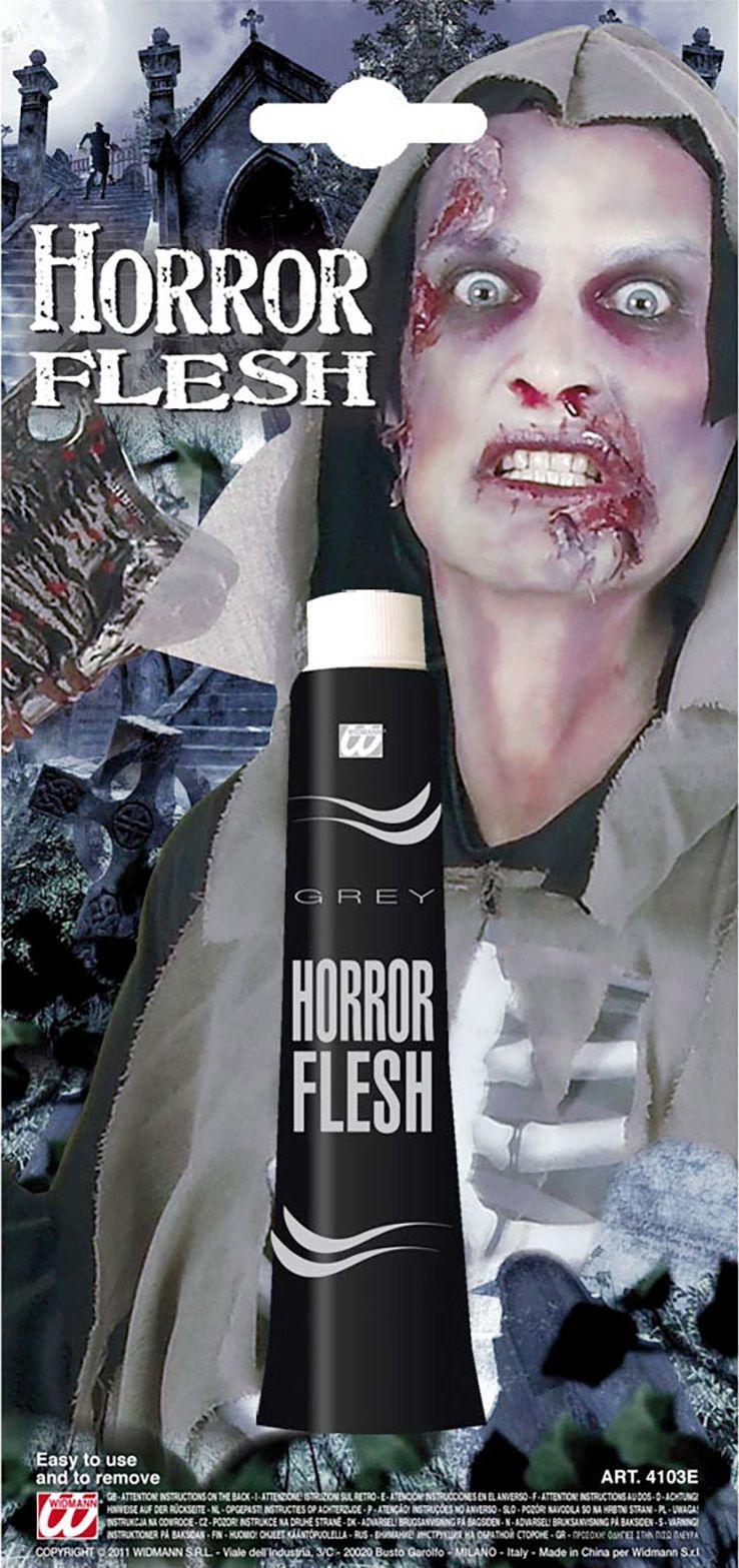 Grijze horror schmink