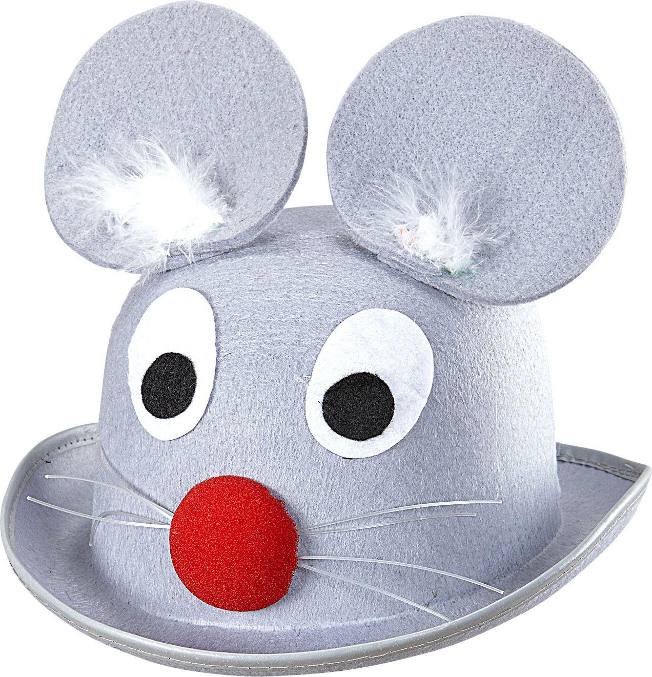 Grijze muis hoed