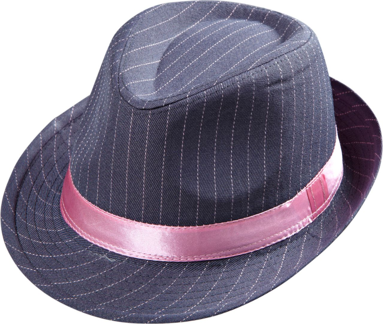 Grijze stippellijn hoed