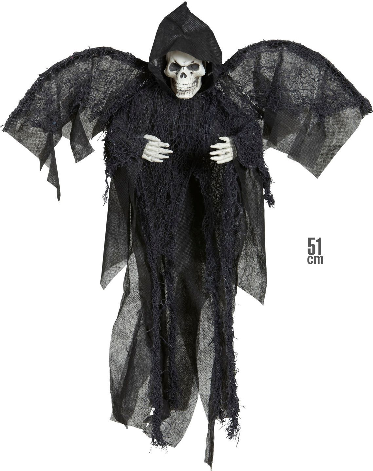 Grim reaper met vleugels
