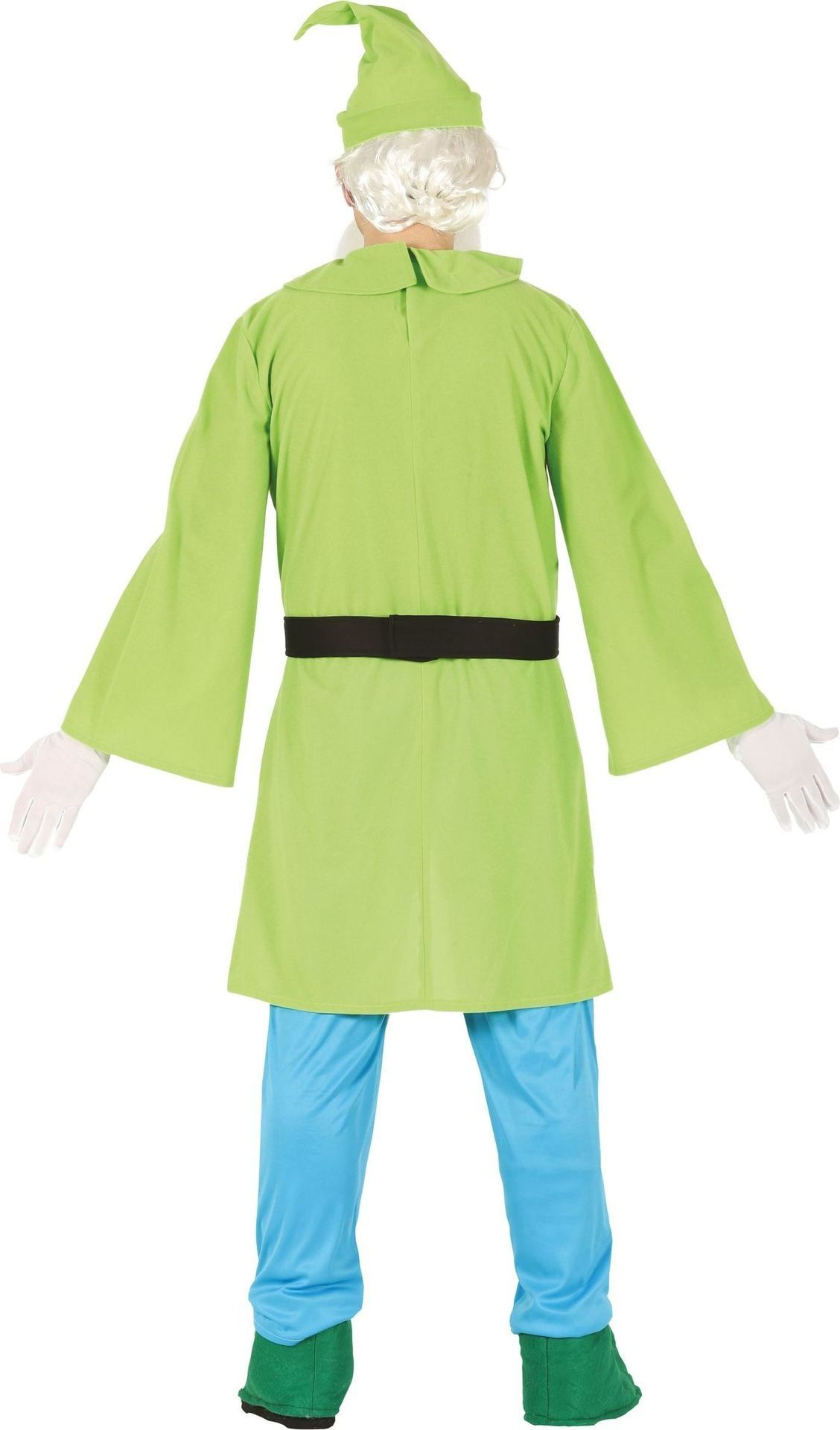 Kostuum Heren.Groen Dwergen Kostuum Heren