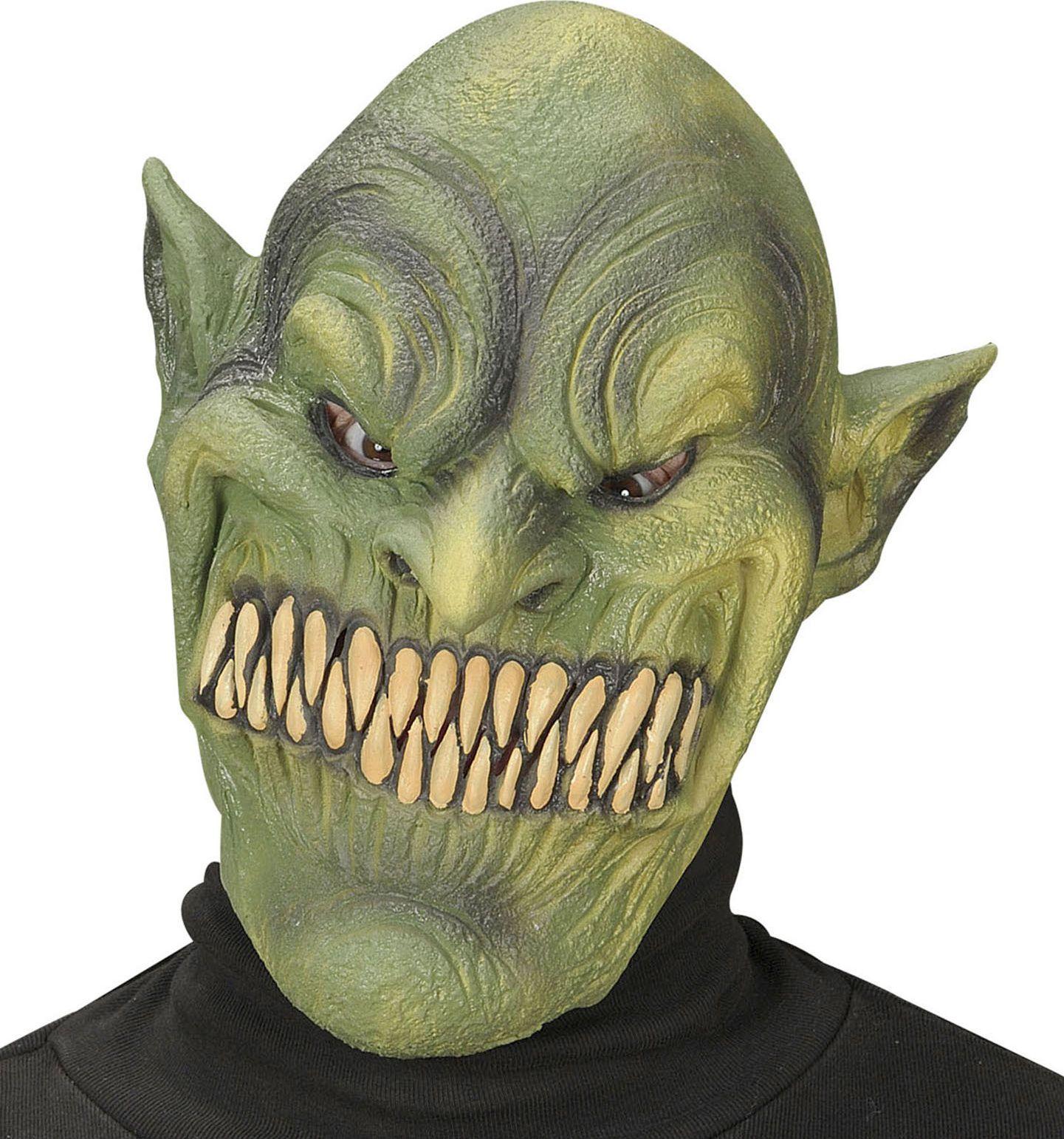 Groen goblin masker