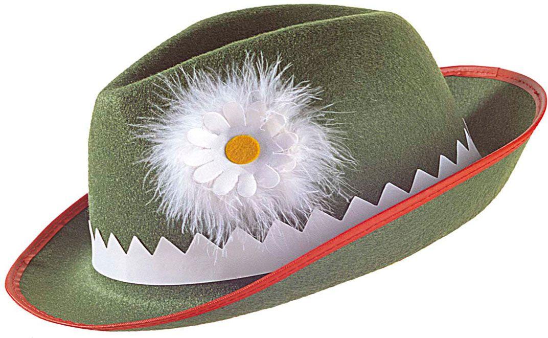 Groen tiroler hoedje