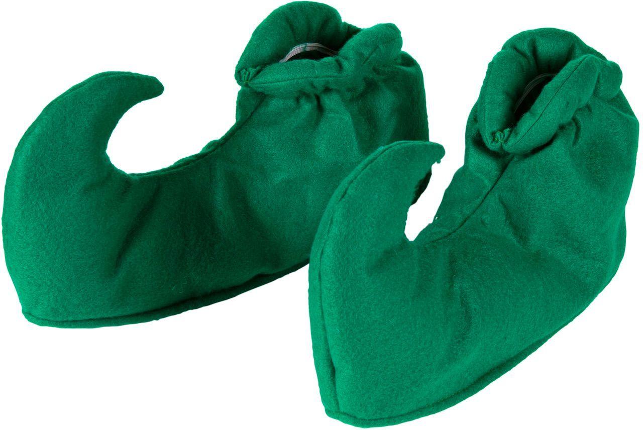 Groene elven schoenen covers
