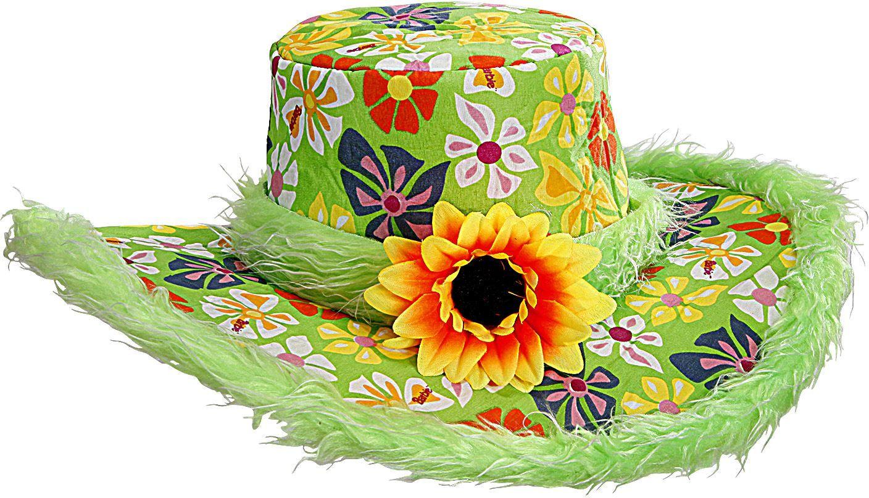 Groene hippie hoed