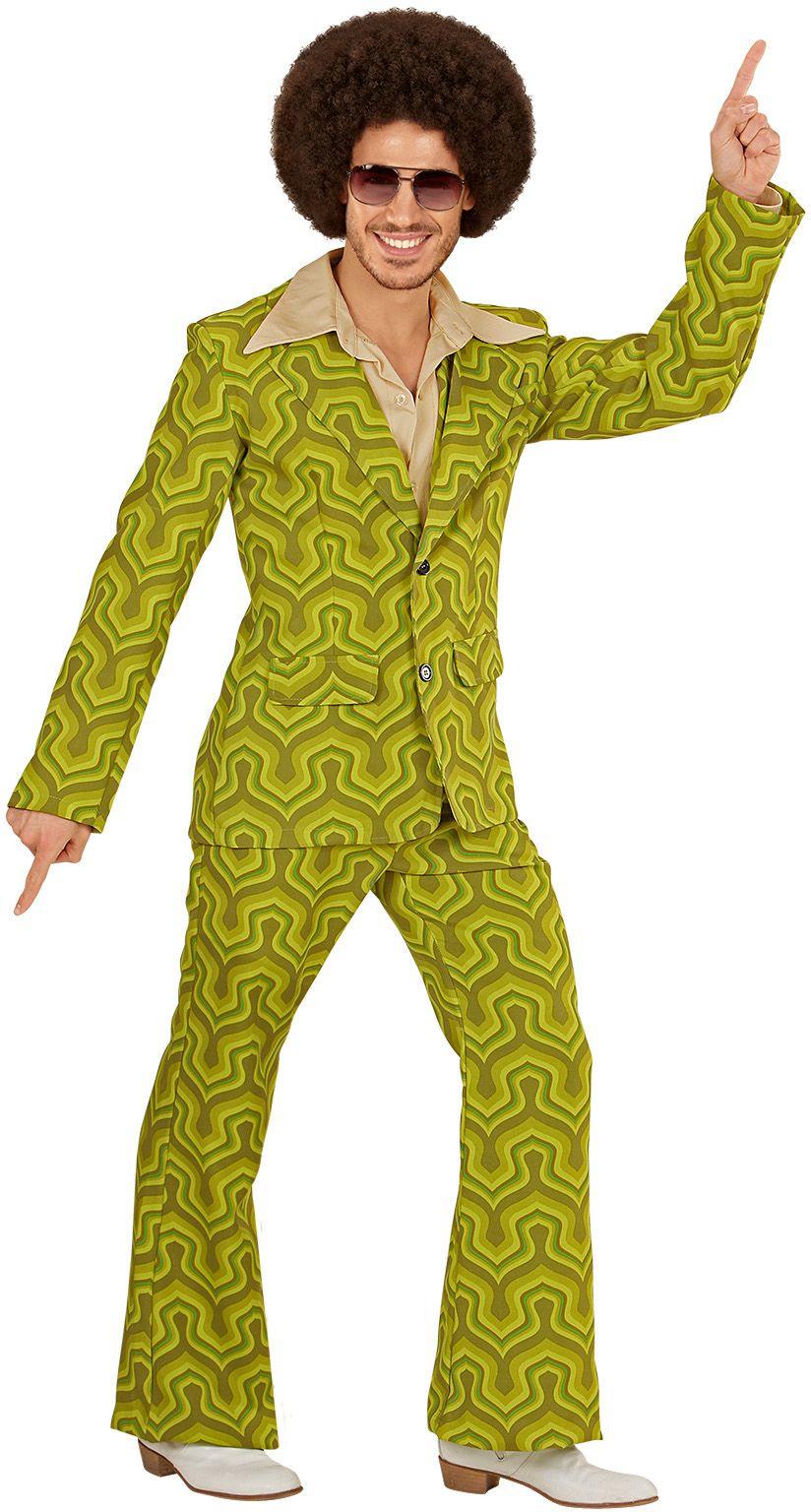 Groene jaren 70 kostuum