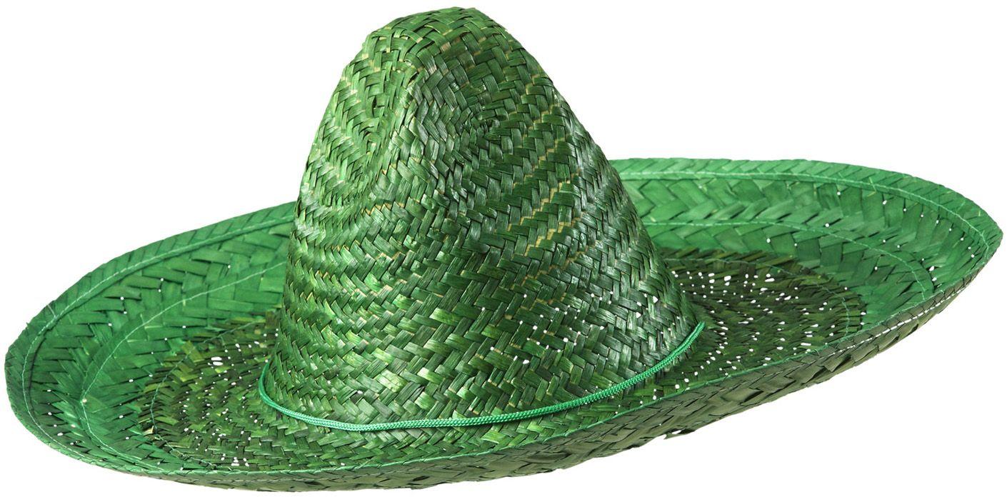 Groene mexicaanse sombrero