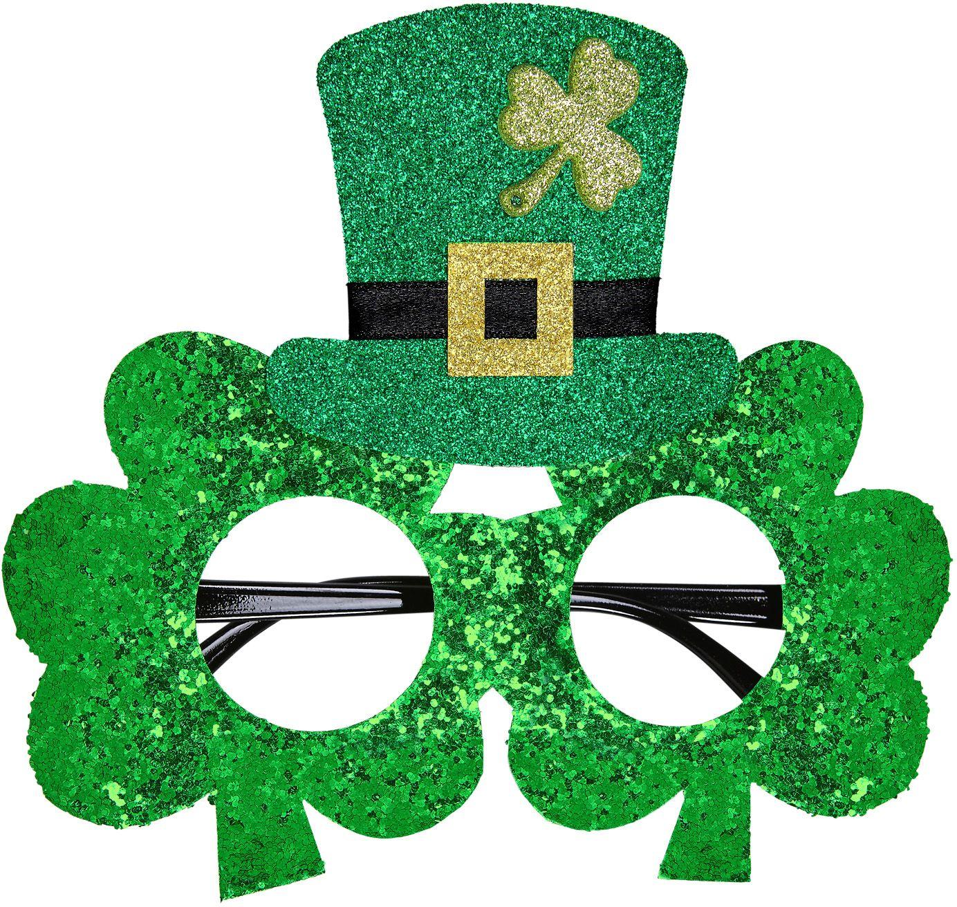 Groene St. Patricksday bril