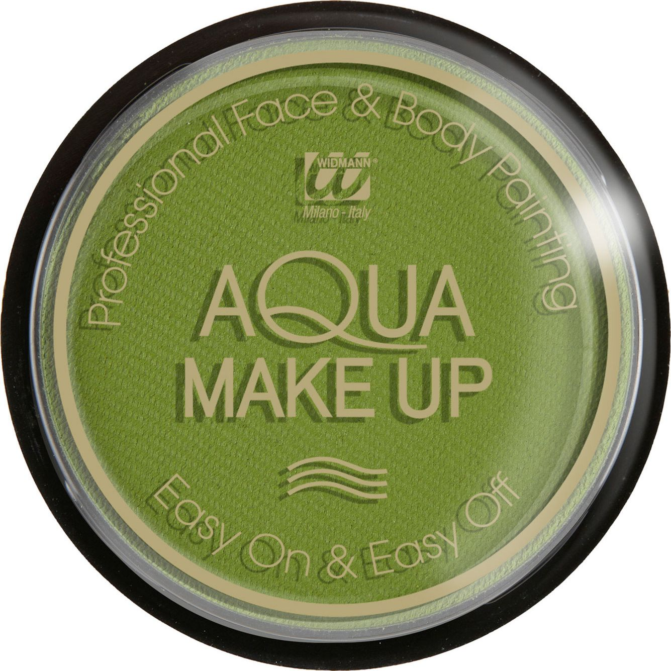 Groene waterbasis make-up