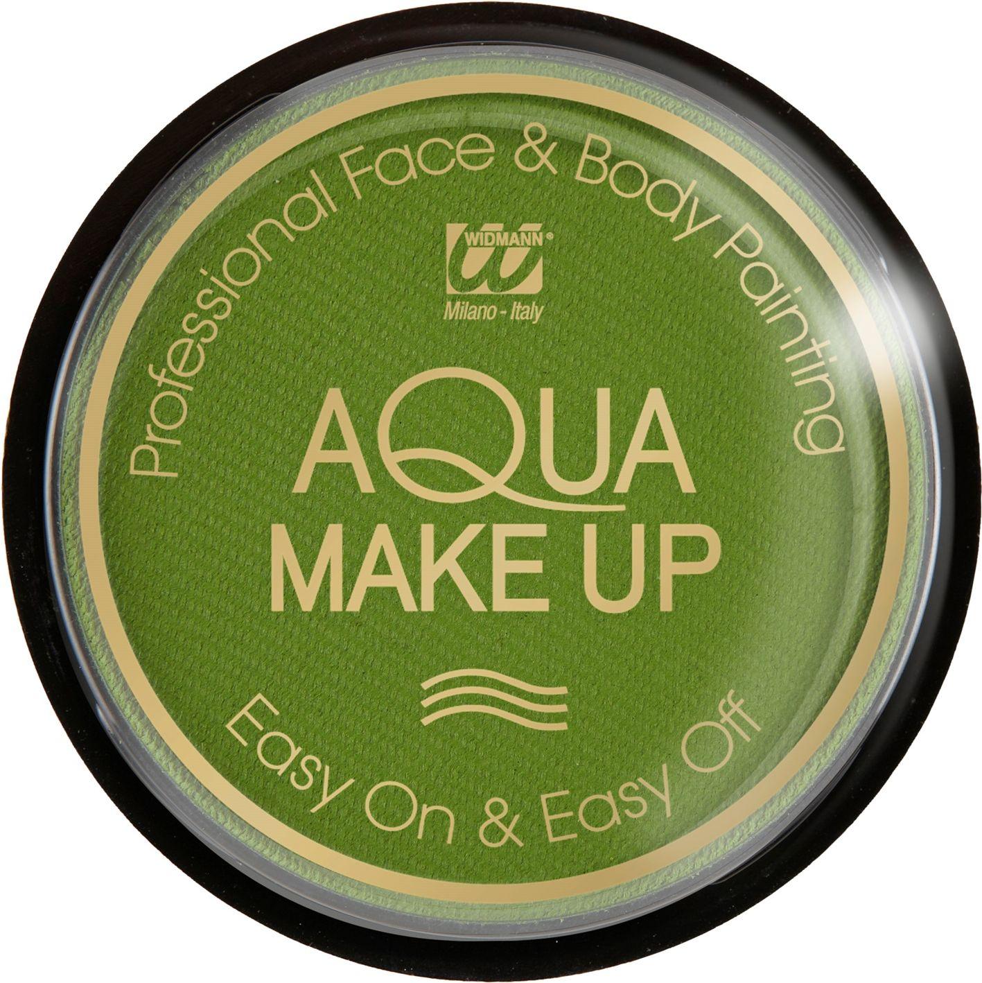 Groene waterbasis make-up